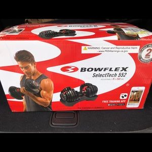 Bowflex SelectTech 552 Adjustable Single Dumbbell